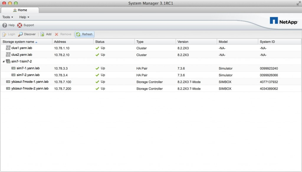 System Manager 3 for Mac home page